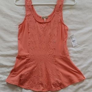 PacSun Coral Tank, Size Large